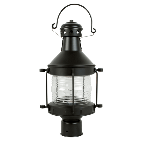 Outdoor Post Burnished Cooper And Clear Glass 19-1-618-683CML