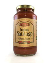Load image into Gallery viewer, ITALO'S ITALIAN SAUSAGE PASTA SAUCE (FREE PRIORITY SHIPPING)