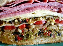 Load image into Gallery viewer, ITALO'S HOT MUFFULETTA (FREE PRIORITY SHIPPING)
