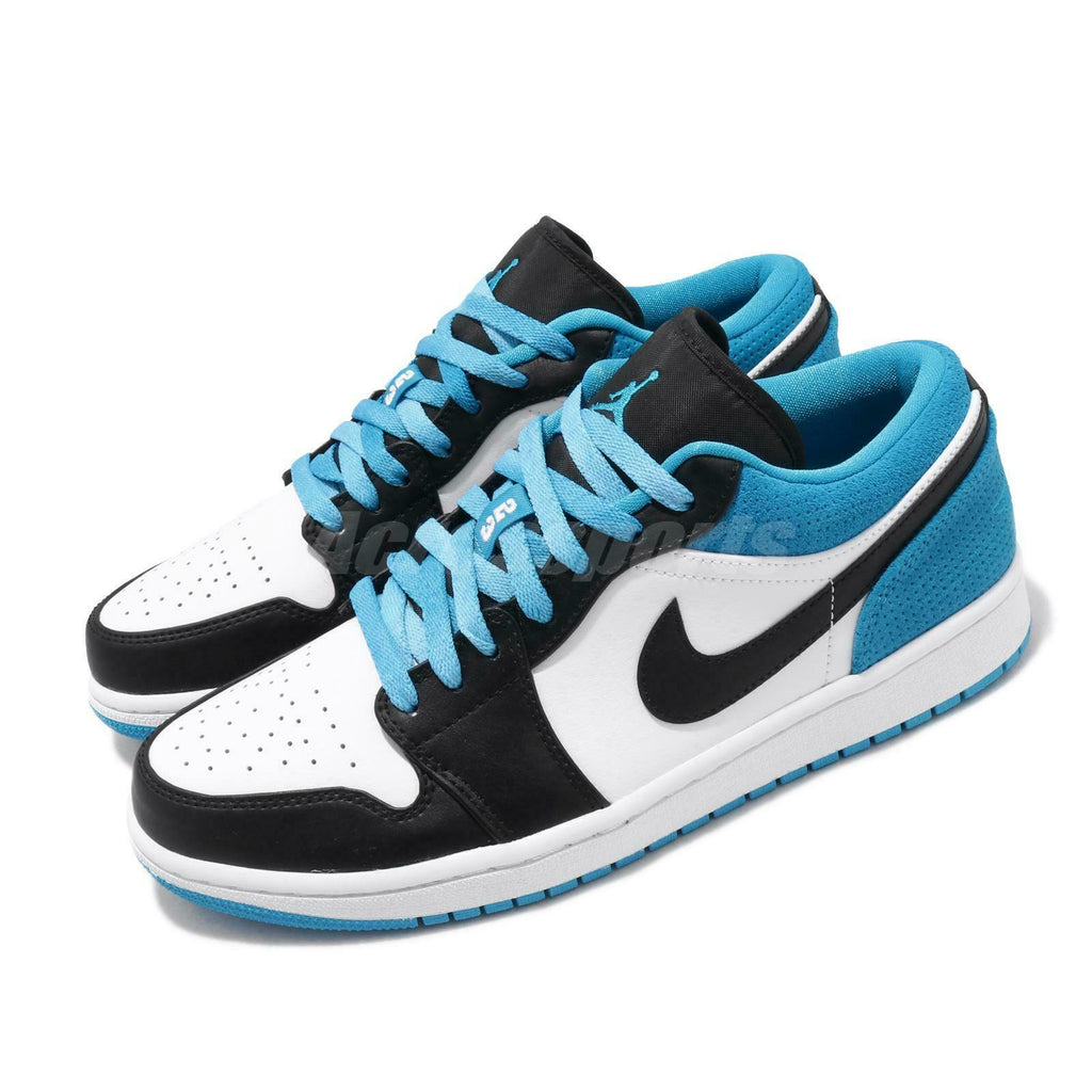 Nike air jordan 1 low se laser blue black