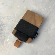 Load image into Gallery viewer, Pixel Wallet | Cardholder Wallet | Walnut Black | Canada Made | Black strap