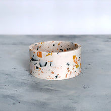 Load image into Gallery viewer, Terrazzo | Small bowl in White with colourful chips / Sinfonia