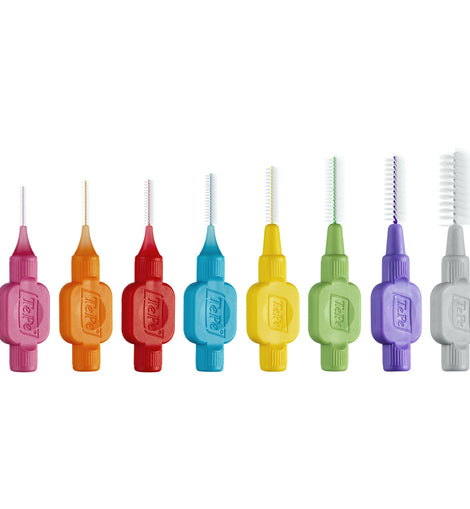 TePe Original Interdental Brushes Mixed Pack - 0.4 to1.3 mm