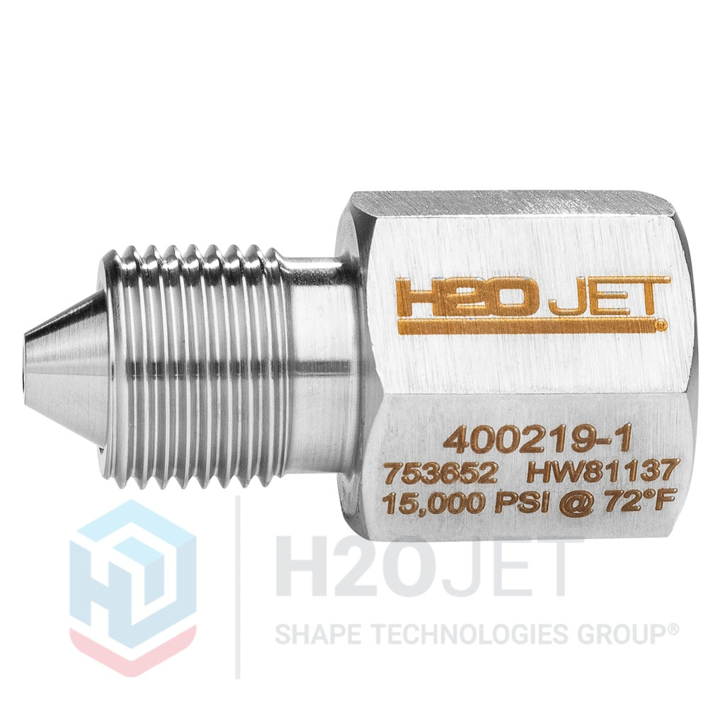 "Adapter, 3/8"" HP Male x 3/8"" NPT Female, SS"