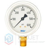 Hydraulic Pressure Gauge 600psi Damped 1/4