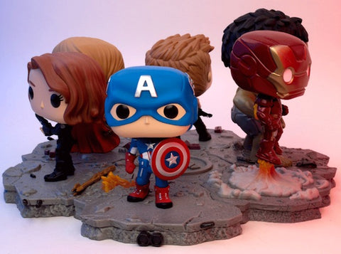 Avengers Assemble Full Set of 6 Pieces - Amazon Exclusive - Pop! Deluxe - Amazon Exclusive