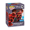 Firefighter Mickey (Red) - Art Series - 19 - Pop! Vinyl - Walmart Exclusive w/ Hard Case