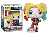 Harley Quinn w/ Boombox - DC Super Heroes - 279 - Pop! Vinyl - PX Previews Exclusive