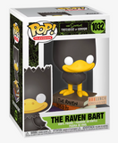 The Raven Bart - The Simpsons Treehouse of Horror - 1032 - Pop! Vinyl - Boxlunch Exclusive
