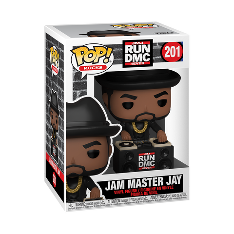 Jam Master Jay - Run DMC - 201 - Pop! Vinyl