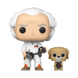 Doc Brown & Einstein - Back to The Future - 972 - Pop! Vinyl - Walmart Exclusive