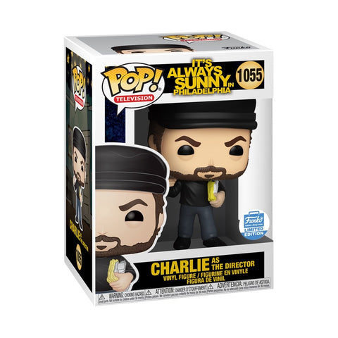 Charlie as the Director - Its Always Sunny in Philadelphia - 1055 - Pop! Vinyl - Funko Shop Limited Edition