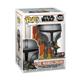 The Mandalorian (Flying) - Star Wars: The Mandalorian - 408 - Pop! Vinyl - Gamestop Exclusive