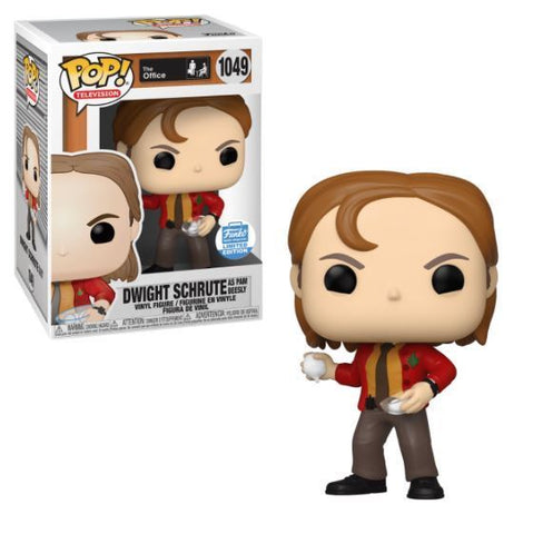 Dwight Schrute as Pam Beesly - The Office - 1049 - Pop! Vinyl - Funko Shop Exclusive