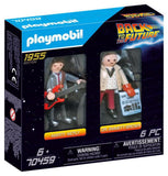 Marty Mcfly and Dr. Emmett Brown - 70459 - Back to the Future Action Figure - Playmobil