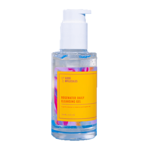 Good Molecules - Gel limpiador con agua de rosas - KAFHER Skin Care