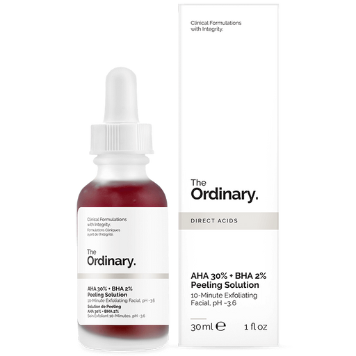 The Ordinary - AHA 30% + BHA 2% Peeling Solution - KAFHER Skin Care