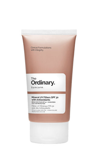 The Ordinary - Filtros minerales UV SPF 30 con antioxidantes