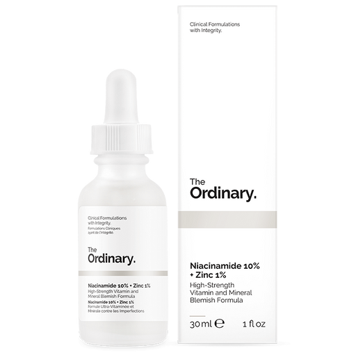 The Ordinary - Niacinamida 10% B3 + Zinc 1% - KAFHER Skin Care