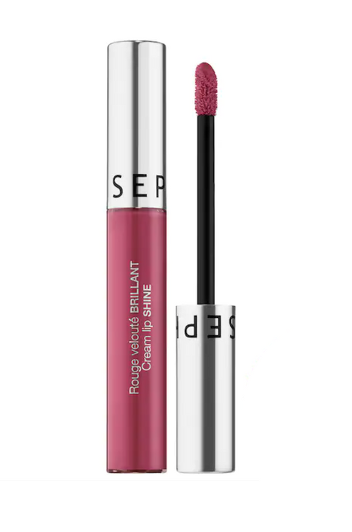 Sephora - Labial líquido cream lip shine - KAFHER Skin Care