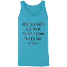 Load image into Gallery viewer, BIRTHPLACE: EARTH Unisex Tank