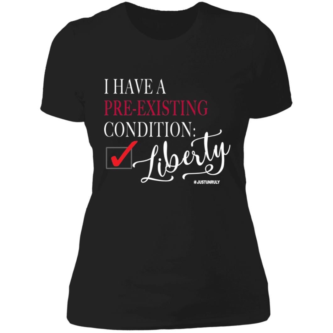 LIBERTY Ladies' Boyfriend T-Shirt