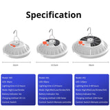 RECHARGEABLE OUTDOOR CAMPING LED BULB LAMP