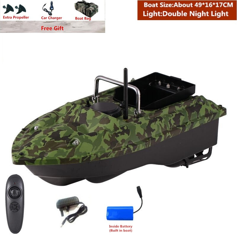 Fixed Speed Cruise Remote Control Fishing Finder Boat