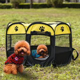 FOLDABLE TENT CRATE ROOM FOR PUPPIES