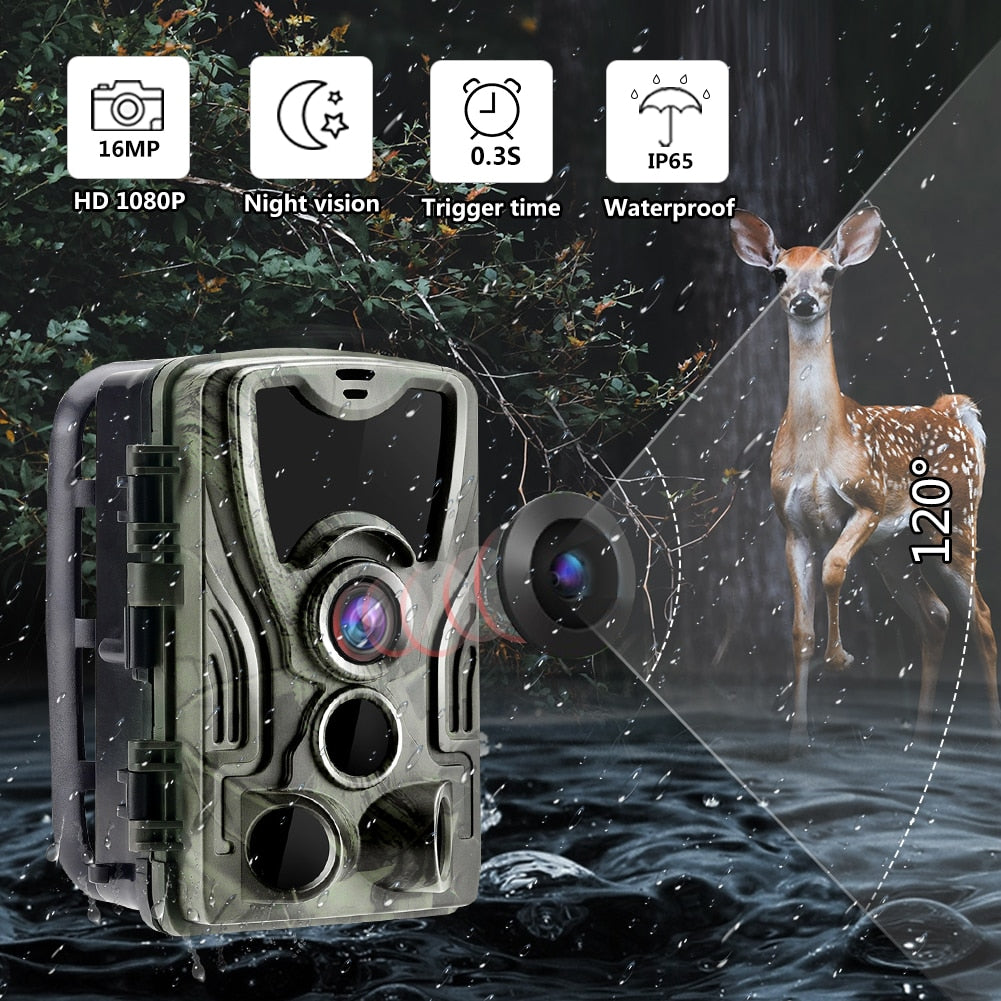 Wildlife Camera With Night Vision Motion