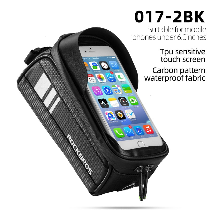 Front Phone Bicycle Bag For Cycling