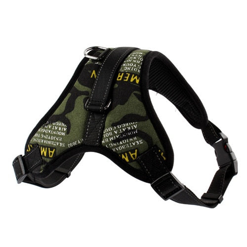 ADJUSTABLE TRAVEL HARNESS FOR DOGS