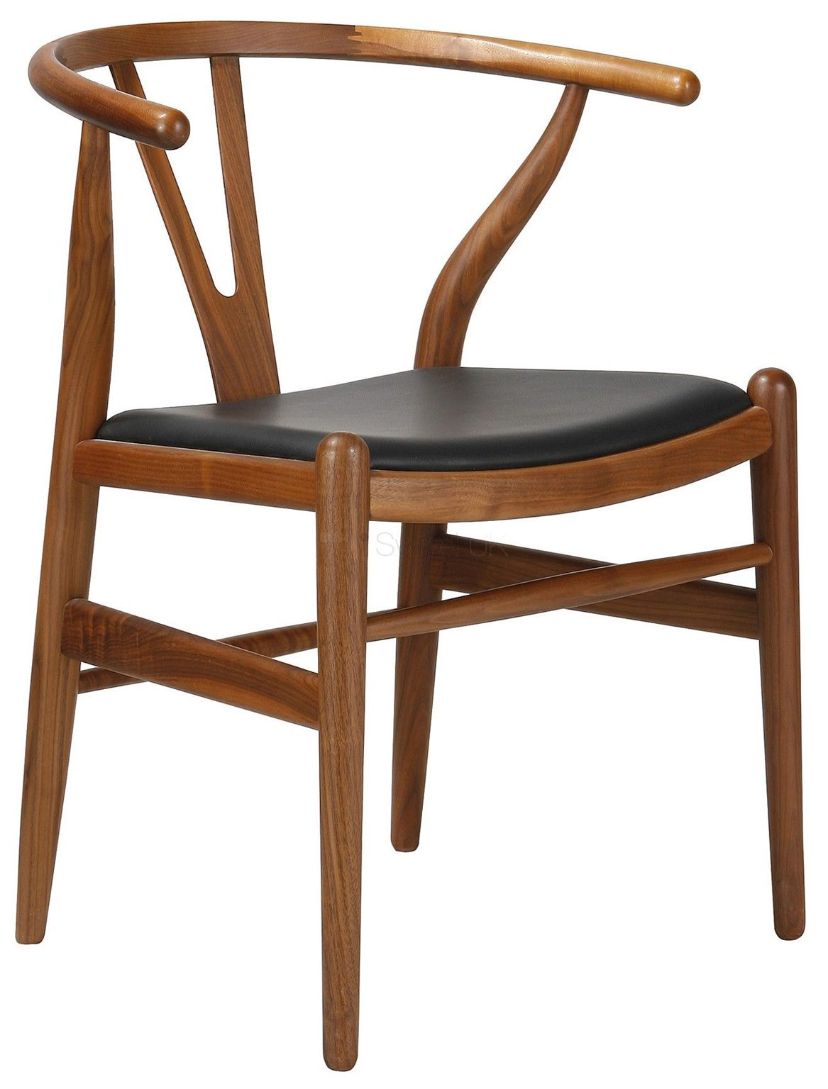 *MG*Replica HANS WISHBONE Dining Chair with Top Grain Leather