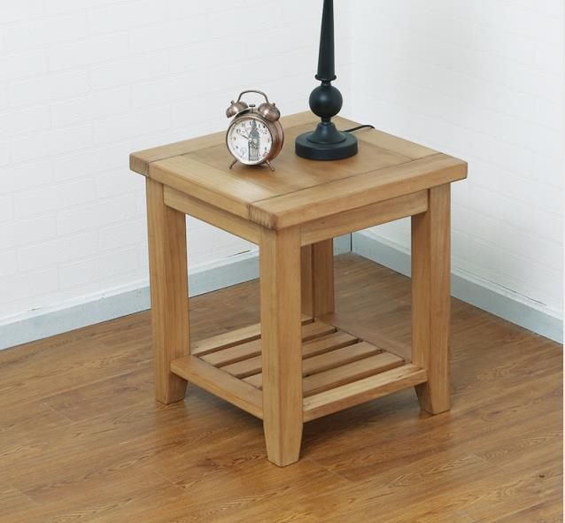 *MG*Solid NZ Pine wood Lamp table, Natural color, High Quality
