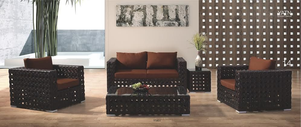 *MG*Rome PE rattan 5pc outdoor sofa set*Special*