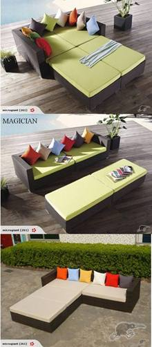 *MG*Magician 4pc outdoor Rattan sofa set*Special* 2 years warranty