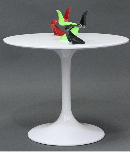 *MG*Replica Eero Saarinen Fibreglass Tulip table Dia80cm