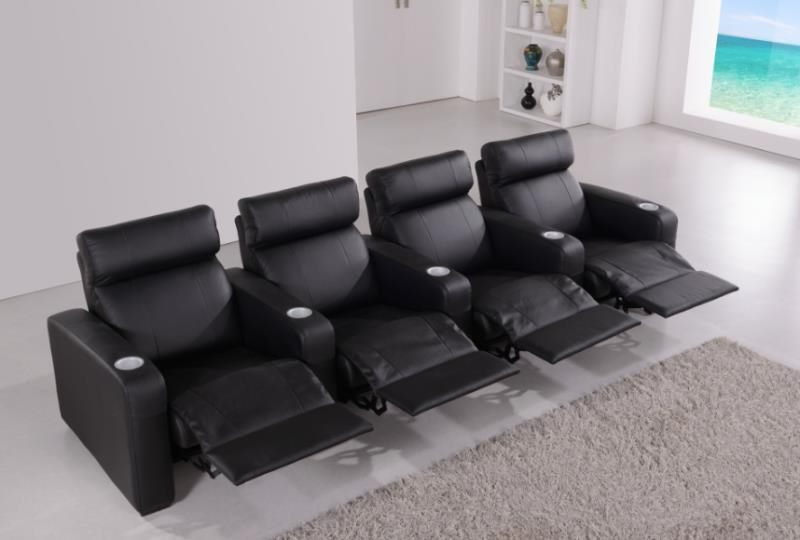 *MG*2 seat Genuine Leather Home Theater , in stock