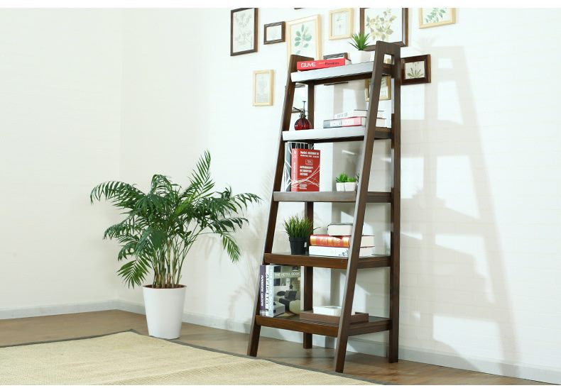 *MG*Solid NZ Pine wood bookshelf 150cmH, 3 color in stock