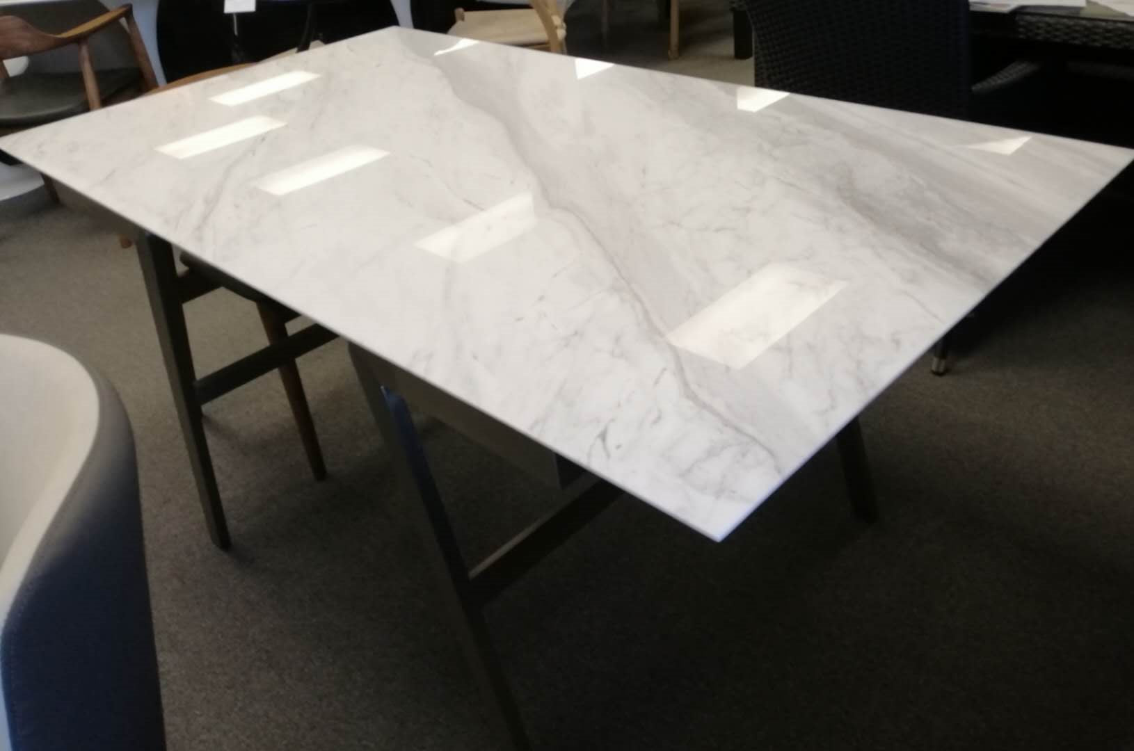 *MG*#705 Natural Marble top Dining table Available in 3 size