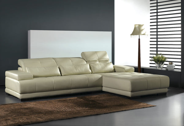*MG*#025 L shape  Italian Leather Lounge Suite *Special* available