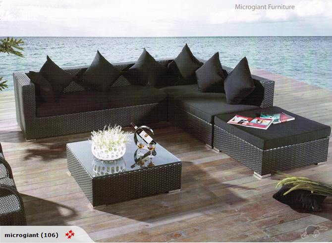 *MG*OASIS PE Rattan outdoor sofa set *Special*