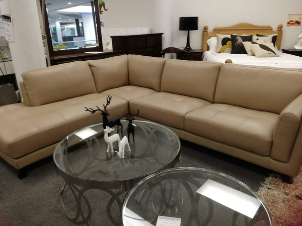 *MG*Full Leather Lounge Suite Sofa #763 *Special*