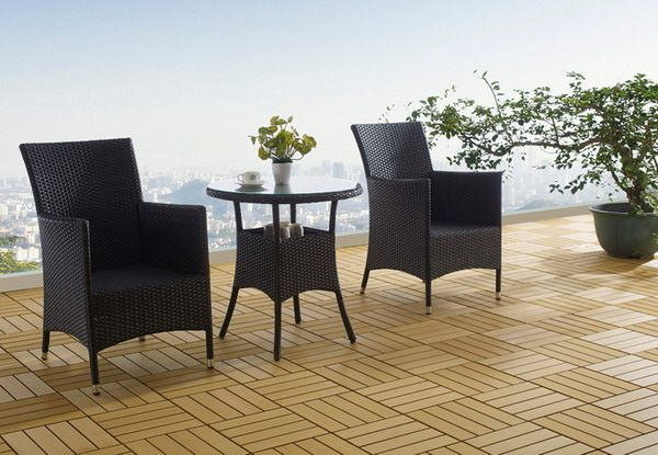 *MG*Muse 3pc PE Rattan Dining Set *Special*,