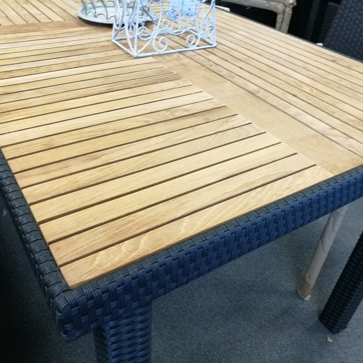 *MG*Vita 7pc PE Rattan outdoor Dining Set, by order