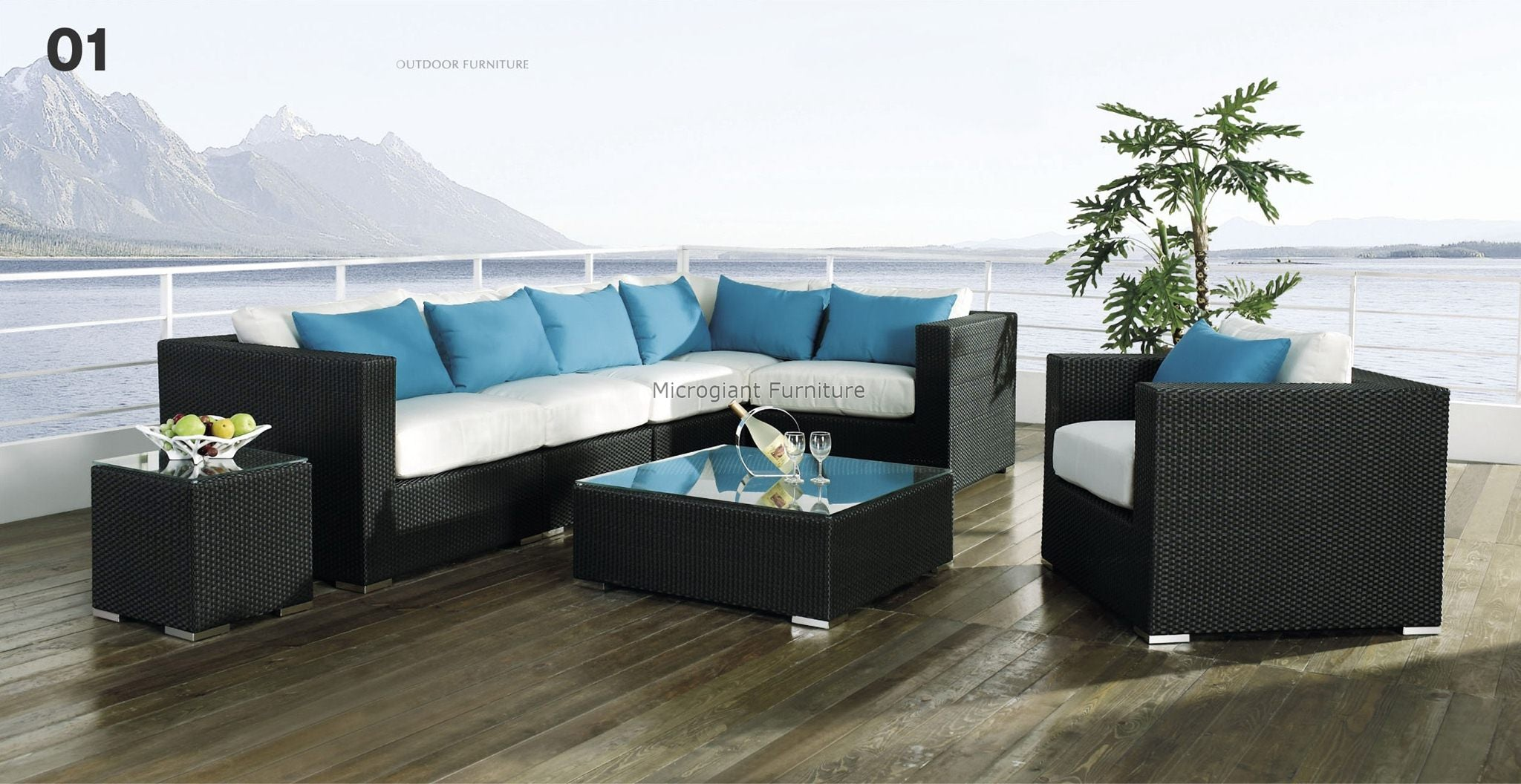 *MG*Elegant 8 PCS Outdoor Rattan sofa set*SPECIAL* in stock