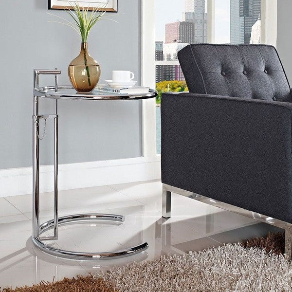 *MG* Nicer Interior Eileen Grey(Gray) End Side Table Ajustable, in stock