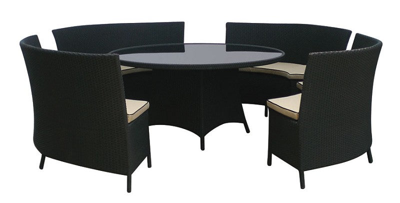 *MG*Knight 5pc PE Rattan Set, by order