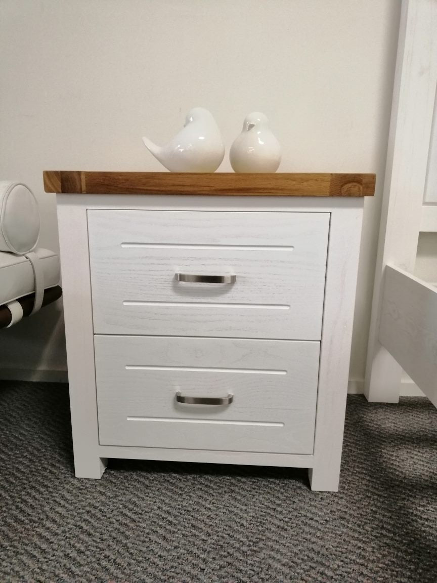 *MG*Arca Solid Wood Bed Side table, in stock