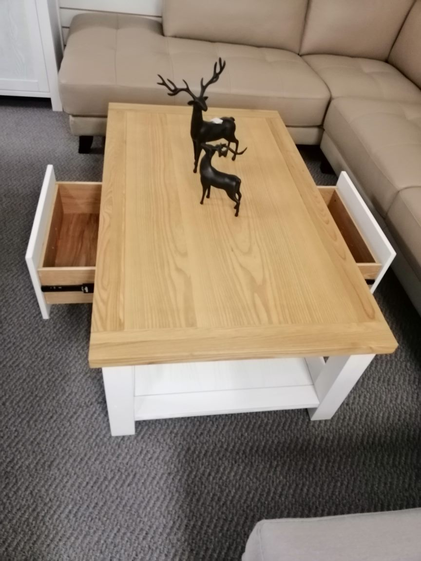 *MG*Arca Solid wood coffee table 1.2m. *Special*